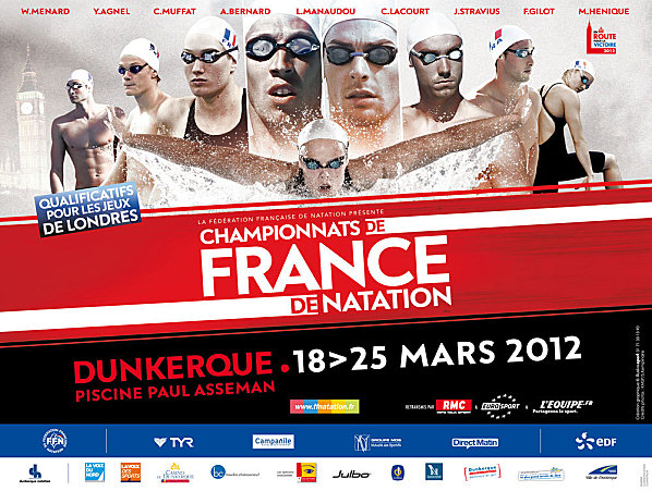Championnats de france elite de natation reims natation 89 for Piscine paul asseman